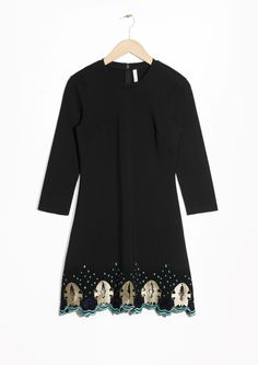 & Other Stories | Embroidered Dress