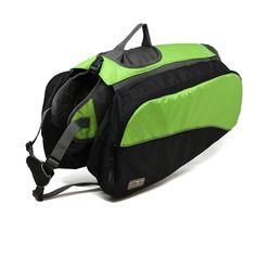 Amazon.com : Outward Hound Kyjen 2502 Dog Backpack, Extra Large, Green : Pet Backpacks : Pet Supplies