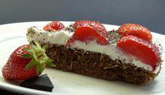 www.low-carb-gerichte.de   Low Carb Schoko – Erdbeer – Kuchen