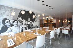 Corso 32 Restaurant  Architecture, Graphic Design, Branding