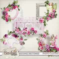Blessings Bestowed - photo clusters