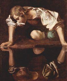 Narcissus, 1599 - Caravaggio