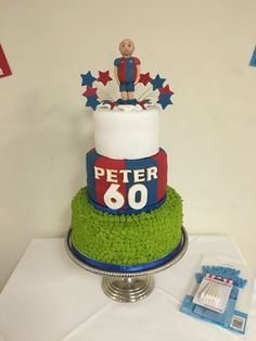 Graham Cake, 60th Birthday Cakes, Crystal Palace, Best Part Of Me, 30th, Dads, Baking, Crystals, Party