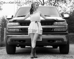 country girl photography - my photoshoot with my Chevy