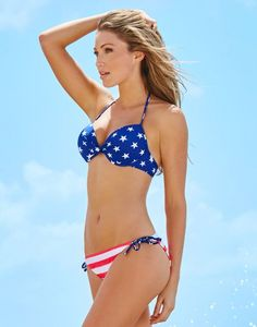 Stars And Stripes Bikini America. Discover and shop the latest women fashion, celebrity, street style, outfit ideas you love on https://www.zkkoo.com