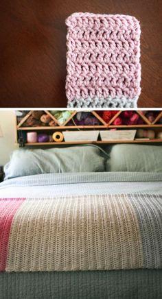Technique :: Clean Edge Double Crochet, by Mamachee. Wish I'd found this a *lot* sooner! . . . . ღTrish W ~ http://www.pinterest.com/trishw/ . . . .