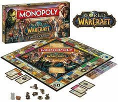 World of Warcraft Monopoly – Jogo de Tabuleiro WoW Monopólio