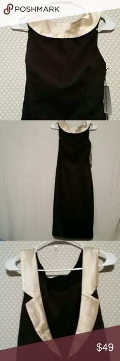 EDITA.COLLECTION for INSPIRARE  Size 10 New with tags beautiful black dress gold neckline size 10 100% cotton exclusive of trim EDITA.COLLECTION  Dresses