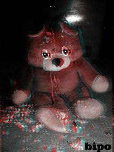 disorderd teddy bear