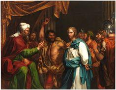 Jesús en casa de Anás - Colección - Museo Nacional del Prado
