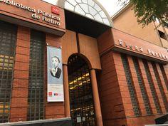 La biblioteca del barrio estrena nombre.Biblioteca de Retiro Elena Fortun ¡Enhorabuena! #bibliotecaretiro #ElenaFortun #bibliotecasdemadrid #fernandoVicente