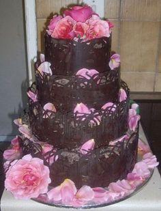 Chocolate lace Cake  | Chocolate_Lace_Pink_02.jpg