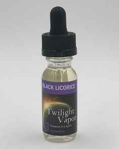 Northwest Vape .COM - Black Licorice, $13.00 (http://www.northwestvape.com/black-licorice/)