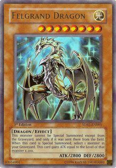 yugioh Felgrand Dragon card - Google Search
