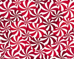 Winter Novelties - Peppermint Swirl - Scarlet Red