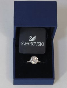 SWAROVSKI Crystal Ring - 7 - Fashion House Amman