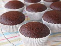 Cupcake vegano de chocolate (sem ovos e sem leite)