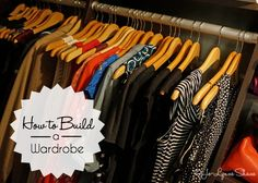 How To Build a Wardrobe was one of my most popular posts last January so I thought this might be a good time to update and republish. A reader emailed me, sharing that she has just fought and won a long, hard battle against cancer and she's ready to start getting out of the yoga pant rut she's found herself in. The problem? She doesn't know where to start and she wanted to know how to build a wardrobe. I