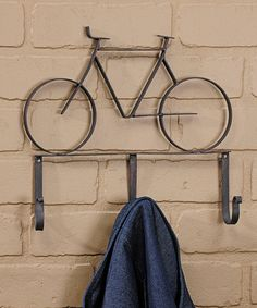 Another great find on #zulily! Bicycle Wall Hook #zulilyfinds