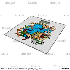 Release the Kraken! Template Bathroom Scale