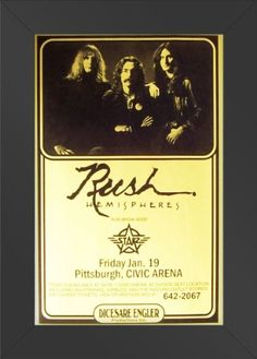11x17 FRAMED Poster Print CONCERT Rush with Starz Live Civic Arena Jan 19 Innerwallz http://www.amazon.com/dp/B008B9VMVI/ref=cm_sw_r_pi_dp_AThPtb0NMGRR4ZKX