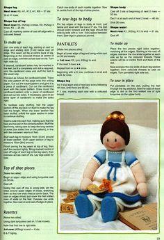 muñeca de lana | Aprender manualidades es facilisimo.com