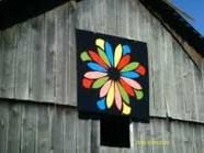 wow.. now that's a barn quilt!