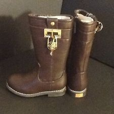 """michael kors """"lil dina""""  toddler riding boots, got these for Eva wish I had a matching pair"""