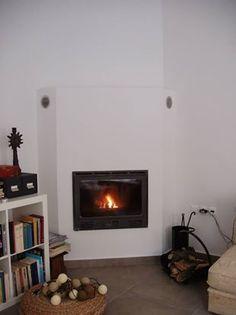 """""""Ενεργειακό τζάκι με δίκτυο διανομής θερμότητας σε ολο το σπίτι"""""""