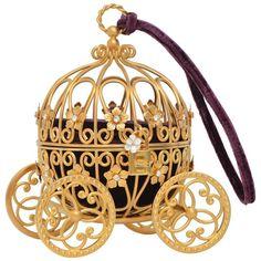 15af1e482c14 Dolce and Gabbana Cinderella Carriage Ltd Ed Handbag Minaudière Retailed   15