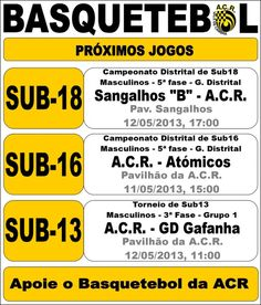ACR: Basquetebol > 11 12 Maio 2013