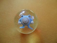 Poliwhirl Pokemon Bouncing Ball  Vintage 1990's  by ChicAvantGarde