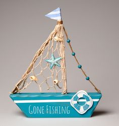 2,35 EUR Gone Fishing Boat Decoration