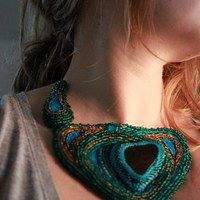 Prodané zboží uživatele merhaba | Fler.cz Bead Weaving, Crochet Necklace, Beads, Jewelry, Fashion, Beading, Moda, Jewlery, Jewerly