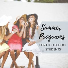 Summer Programs for High School Students Activities For Teens, Summer Activities, Child Plan, Summer Programs, Interview Preparation, Teenage Daughters, Middle Schoolers, Career Planning, College Admission