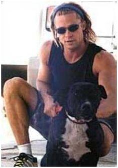 Brad-Pitt-and-his-Pit-Bull