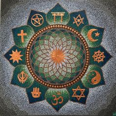 Religion mandala, acrylics from on canvas now available on ETSY link in bio Mandala Canvas, Mandala Dots, Mosaic Projects, Art Projects, Round Canvas, Dot Tattoos, Dot Art Painting, Stone Art, Art Girl
