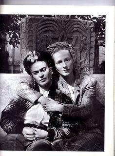 Frida & ?  ~Repinned Via Catherine Maudet