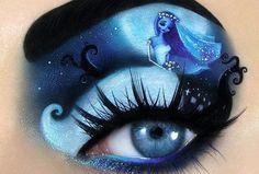 Tal Peleg, make-up artist de talent, revient avec une magnifique série d'Halloween! Ça en met plein les yeux. (Lol) (vous l'avez?)