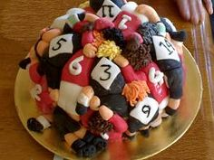 Rugby themed cake - For all your cake decorating supplies, please visit… Rugby League, Rugby Players, Rugby Rules, Rugby Cake, Rugby Girls, Grudge Match, Sport Cakes, Cupcakes, Cake Decorating Supplies