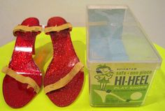Dress up high heel shoes...begged for these every time...mother said they were horrid for your feet..:)