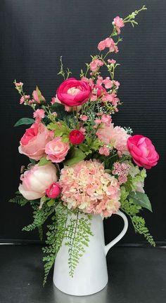 16 Ideas For Flowers Spring Bouquet Floral Arrangements Centerpieces Spring Flower Arrangements, Flower Arrangement Designs, Floral Centerpieces, Spring Flowers, Floral Arrangements, Spring Bouquet, Amazing Flowers, Beautiful Flowers, Flower Decorations