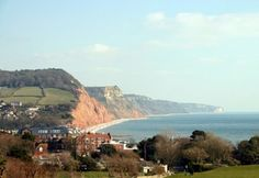 Walk the Jurassic Coastline in Devon and Dorset on the UK South West Coastal Path Long Distance Footpath and National Walking Trail Great Places, Beautiful Places, Holidays In England, Walking Holiday, Jurassic Coast, Woodland Park, Devon, Seaside, Paths