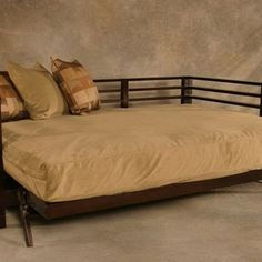 Modern Style Orion Futon Frame in bed position | Yelp