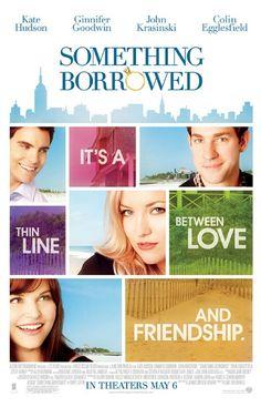 Something Borrowed *** De introverte Rachel (Ginnifer Goodwin) begint aan haar 30ste verjaardag en haar extravagante en beste vriendin Darcy (Kate Hudson) vindt dat dat niet zomaar voorbij mag gaan. Na afloop van het verjaardagsfeest belandt Rachel in een dronken bui in bed met Dex, een oud studiegenoot maar ook Darcy's verloofde.