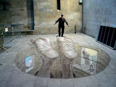 The 5 Most Gifted 3D Pavement chalk artists in the World | Design Blog and Design Inspiration