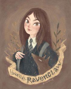 Garry Potter Fan PostCard on Behance Harry Potter Artwork, Harry Potter Love, Harry Potter Fandom, Harry Potter Memes, Slytherin, Hogwarts Mystery, Anime Art Girl, Cute Art, New Art