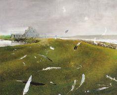 Airborne | Andrew Wyeth | Ralston Gallery