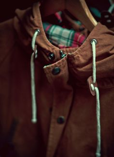Hooded Jacket by Mr Simple
