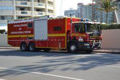 .Gros camion de pompier
